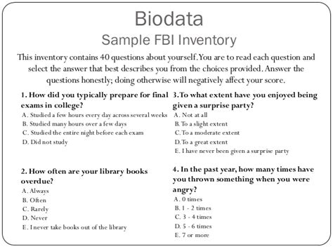 how to write biodata exles the use of biodata for employee selection past research
