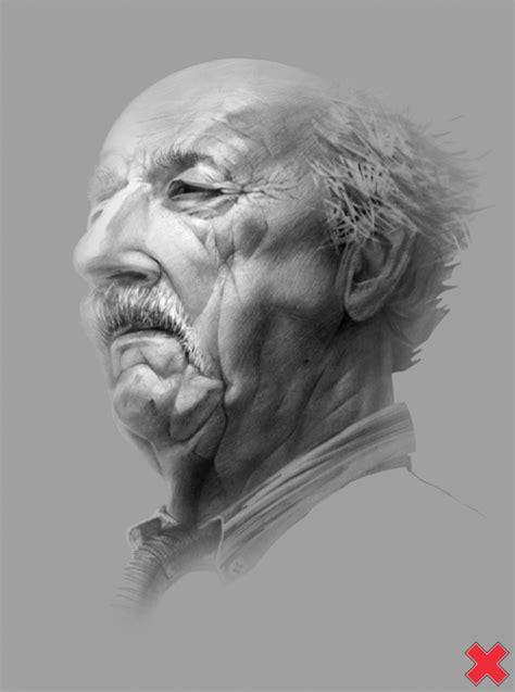 amazing  men pencil portraits  sasha ushkevich art
