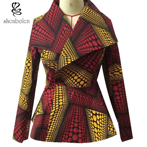 Hem Batik Clasdic 01 aliexpress buy africa style pattern coat traditional classic batik prining