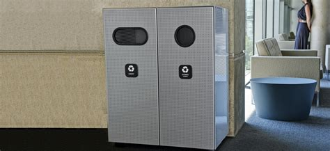 Landscape Forms Select Recycling Select Recycling System