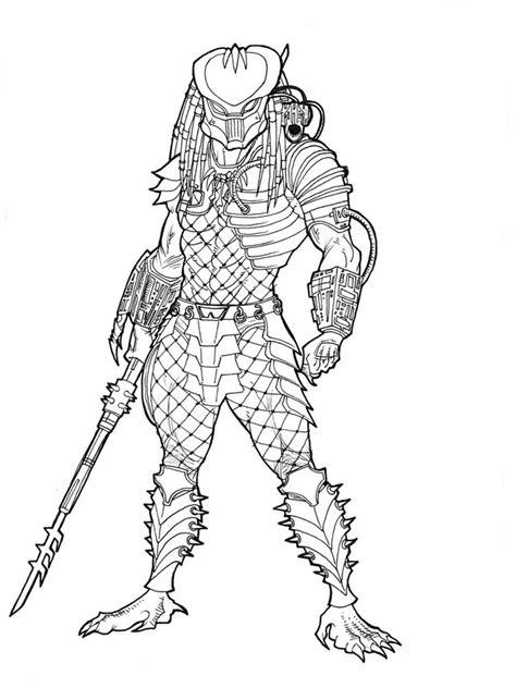 predator coloring pages free printable predator coloring