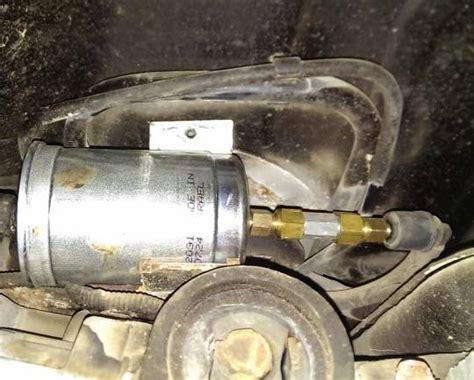 fuel system check valve installation p volvos