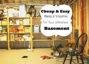 Unfinished Basement Storage Ideas Fascinating Unfinished Basement Storage Ideas Unfinished Basement Organization Ideas