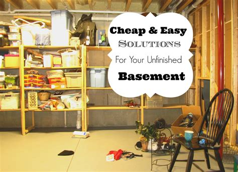 storage ideas for basement fascinating unfinished basement storage ideas unfinished