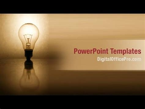 powerpoint themes electricity electric bulb powerpoint template backgrounds