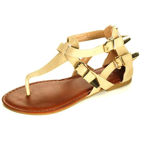 gladiator sandals womens gladiator sandals t thongs flats back