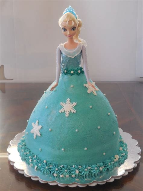 dress cake frozen elsa cake doll from target dress is iced in