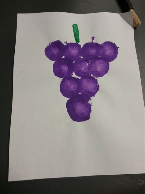 purple crafts for 17 best images about fruit veggie handprints on