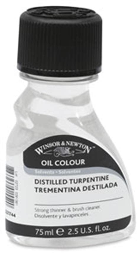 Winsor Newton Distilled Turpentine 250ml For Colour 00407 1101 winsor newton distilled turpentine blick materials
