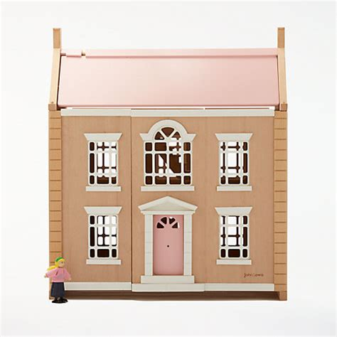 buy doll house buy john lewis leckford house wooden doll s house john lewis