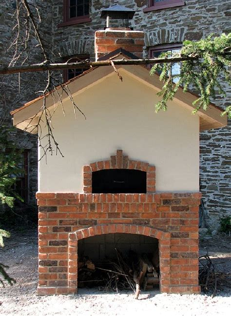 outdoor brick pizza oven wood fired ovens