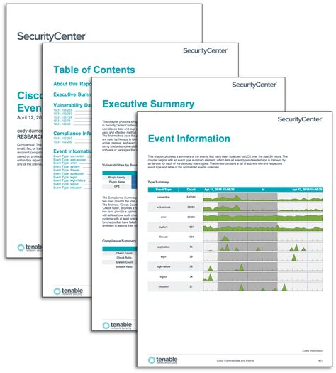 firewall report template cisco vulnerabilities and events sc report template