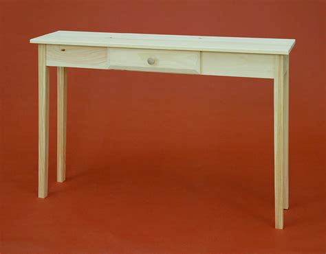 Shaker Style Sofa Table by Shaker Style One Drawer Sofa Table