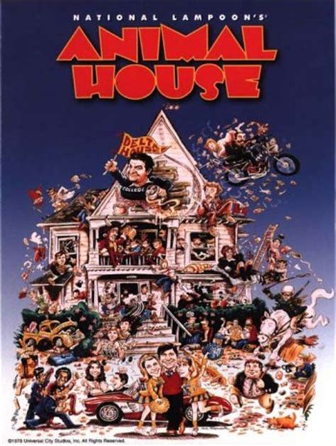where was animal house filmed animal house film 1978