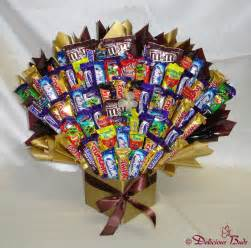 Candy Bouquet In A Vase Delicious Buds Chocolate Amp Candy Bouquets In Glenhaven