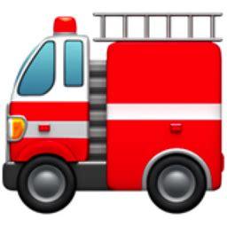 emoji engine fire engine emoji u 1f692