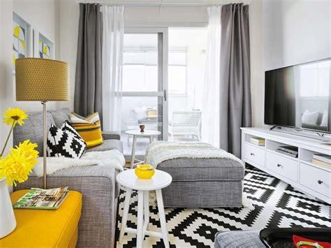 salones pequenos  parecen grandes muebles de