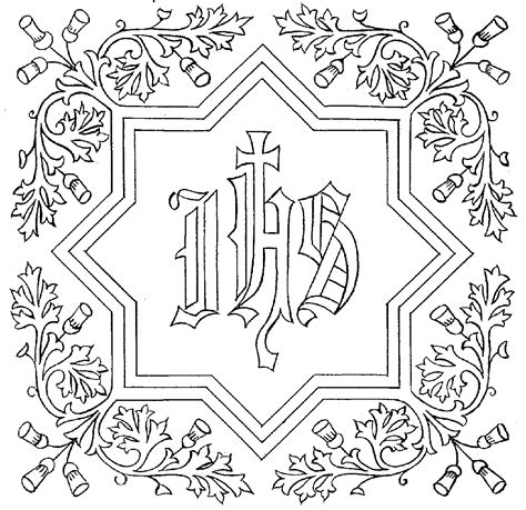 jesus name coloring page catholic icing holy name of jesus song and more