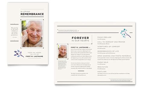 newsletter layout services funeral services newsletter template word publisher