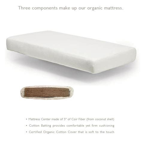 comfortable crib mattress oeuf organic crib mattress the century house wi