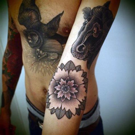 lotus tattoo guy 50 flower tattoos for men a bloom of manly design ideas