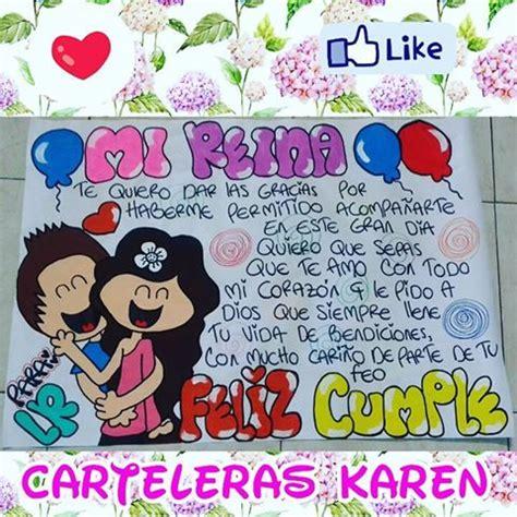 carteleras para tu novio carteleras karen dq carteleraskaren instagram photos