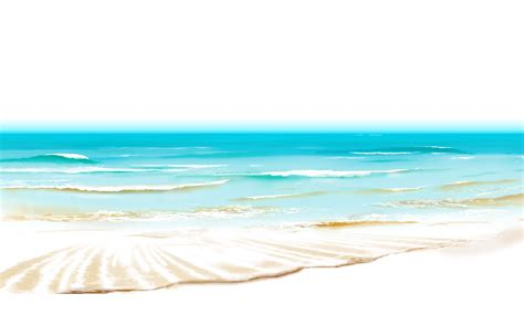 beach transparent wave clipart sea view pencil and in color wave clipart