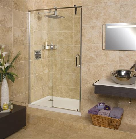 Small Bathroom Tile Ideas Pictures by Sculptures Sliding Door Shower Enclosure Roman Showers