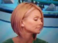 kelly rippa soft curls kelly ripa short bob haircut with loose waves kelly