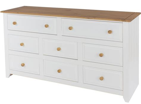 White Chest Of Drawers by Abdabs Furniture White Wide Chest Of Drawers