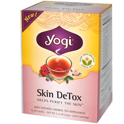 Tea Box Detox by Products For Inner Cleansing And Vitality Enhance