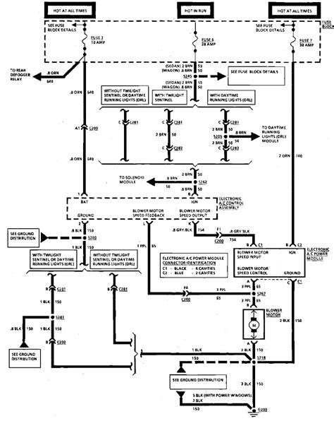 hvac electrical schematic symbols