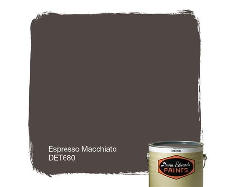 dunn edwards paints paint color espresso macchiato det680 click for a free color sle