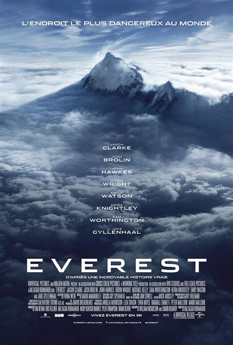film everest livre affiches posters et images de everest 2015 senscritique