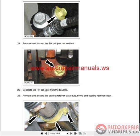 ford fiesta 2011 workshop manual wiring diagrams auto ford fiesta 2011 workshop manual wiring diagrams auto repair manual forum heavy equipment