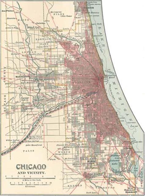 chicago map 1900 chicago britannica