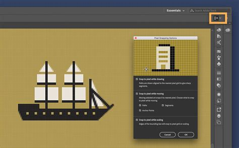 adobe illustrator pixel pattern create pixel perfect art in illustrator adobe