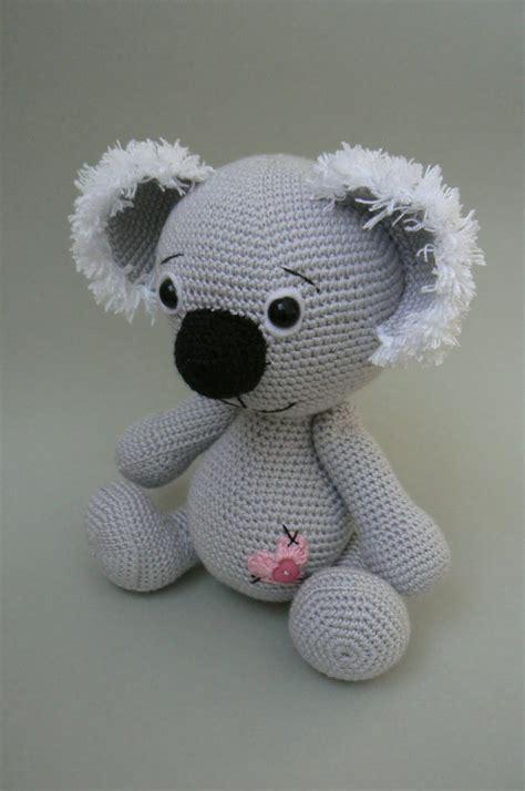 crochet pattern koala bear kamlin patterns koala bear