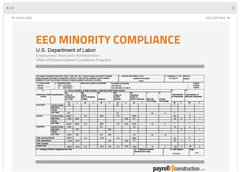 eeo 1 report template eeo 1 report form template free proofing tools