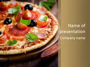 pizza powerpoint template herbs chopping board pizza powerpoint template id