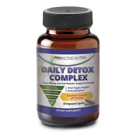 Nutra One Detox 1 by Detox And Cleanse Your With Daily Detox Complex From
