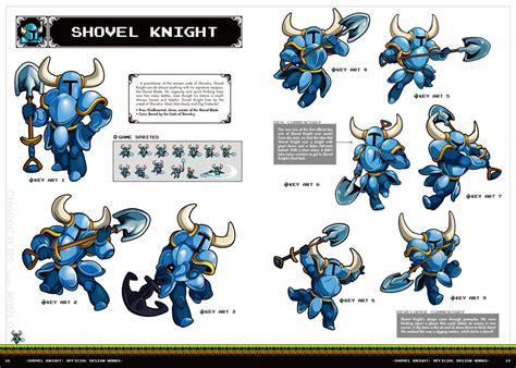 libro shovel knight official design act conocemos el dise 241 o de la portada del artbook shovel knight official design works
