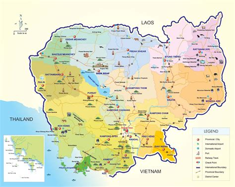 map of cambodia cambodia map maps of cambodia