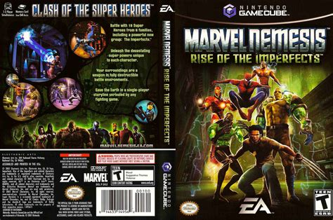 emuparadise iso nds marvel nemesis rise of the imperfects iso