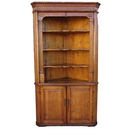 Antique Corner Hutch antique pine corner cabinet hutch antique furniture from castlehillantiques on ruby
