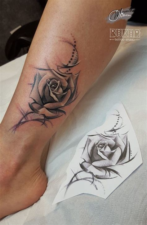 rose tattoos on legs 1000 ideas about leg tattoos on leg