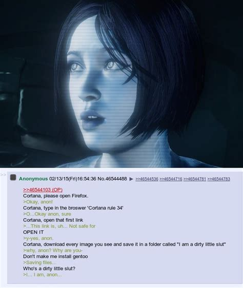 cortana rule 34 cortana go open the folder and describe what s happening