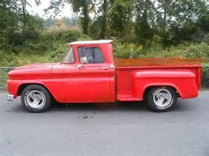buy used 1963 chevy bed stepside up in black