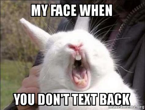 Text Back Meme - meme