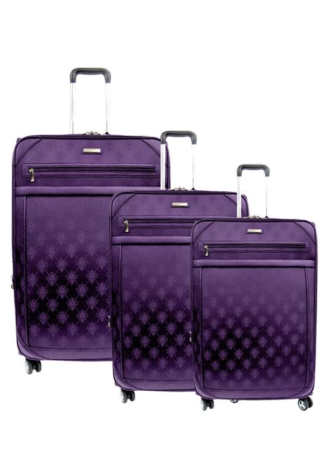 fiore suitcase best 25 purple luggage ideas on purple glass